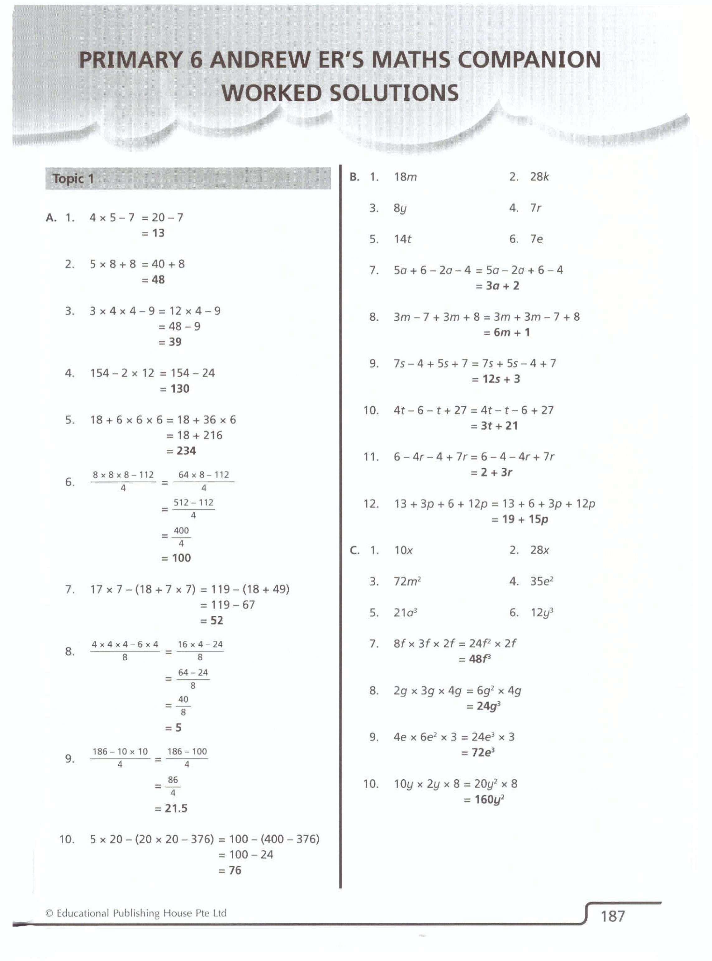 Andrew Er S Maths Companion 6 Openschoolbag [ 3084 x 2286 Pixel ]