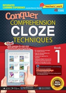 Comprehension Cloze Techniques Book 1