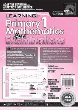 Primary 1 Mathematics Mock Examinations