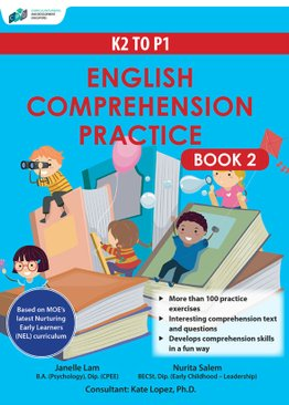 K2 to P1 English Comprehension Practice Book 2