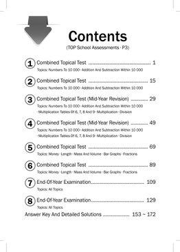 Maths Top School Assessments P3