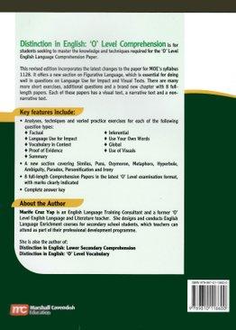 Distinction in English: O Level Comprehension (Rev Ed)