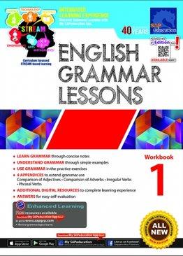English Grammar Lessons Workbook 1