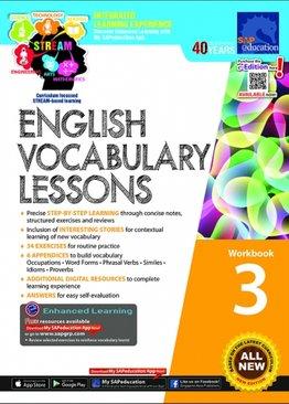 English Vocabulary Lessons Workbook 3