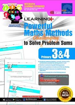 Learning+ Powerful Maths Methods to Solve Challenging Problem Sums Primary 3 & 4