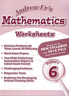 Andrew Er's Maths Worksheets 6