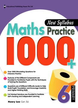 Maths Practice 1000+ 6 New Syllabus