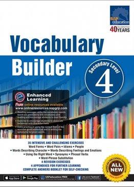 Vocabulary Builder Secondary Level 4