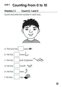 Pre-primary Preparatory Course Mathematics K1 Book A