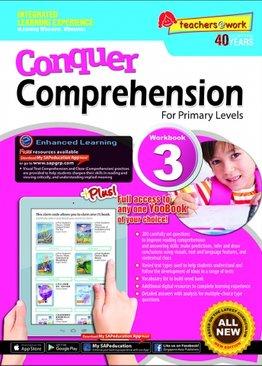 Conquer Comprehension Workbook 3
