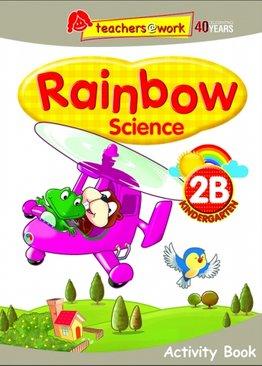 Rainbow Science Activity Book K2B