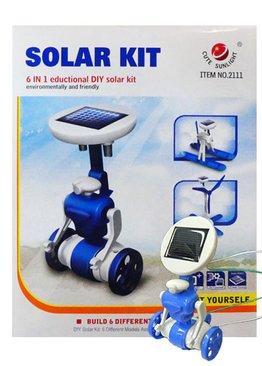 STEM Science Play N Learn 6 in 1 Educational DIY Solar Robot Kit
