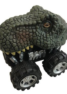 Science Educational Toy For Kids Dinosaur Play N Learn Party Gift Pull Back Car 4 models per pack