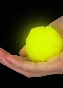 Putty Imaginative Play N Learn Party Gift Magical Clay Glow In The Dark Yellow