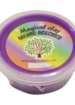 Putty Imaginative Play N Learn Party Gift Magical Colour Changing Clay Purple
