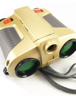 Educational Toy For Kids Play N Learn Binoculars with Light Up Nightscope