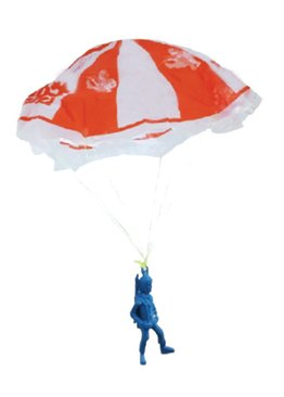Science Educational Toy For Kids Play N Learn Party Gift Parachute Man 5 pieces per pack