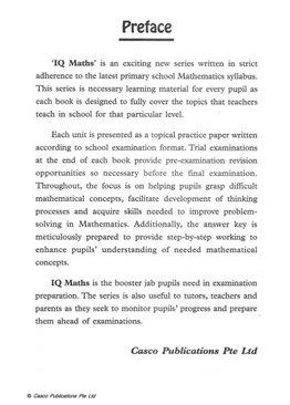 Classroom IQ Mathematics 3