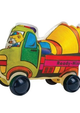 Creative Play N Learn Party Gift Craft Colorloon Colour and Inflate 3D Vehicle DIY Kit Ready-Mixed Truck