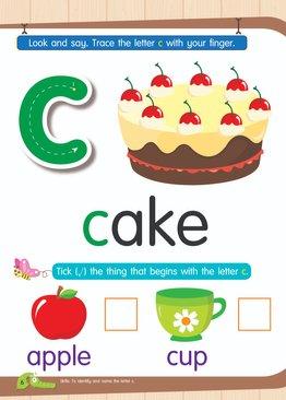 Nursery Town: First English Reader 1 (with Sticker)