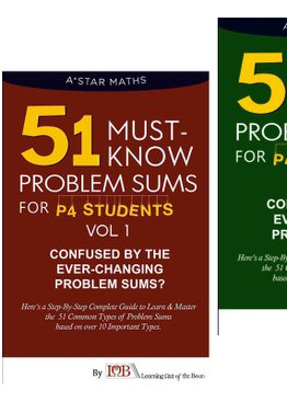 P4. 51 Must-Know Sums Volume 1 & 2 (Quick Starter Kit)