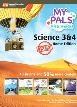 My Pals are Here! Science P3&4 Upsized (Home Ed)
