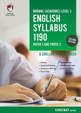 NA Level English Syllabus 1190 P1 & P2 for Sec 3 (2nd Ed)