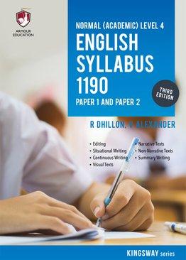 NA Level English Syllabus 1190 P1 & P2 for Sec 4 (3rd Ed)