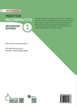Mentor Mathematics Book 1 (New Ed)