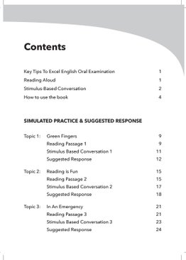 A COMPREHENSIVE GUIDE TO ENGLISH ORAL EXAMINATION PRIMARY 4