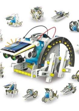 STEM Science Play N Learn 13 in 1 Educational DIY Solar Robot Kit