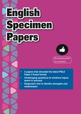 Primary 6 English Specimen Papers