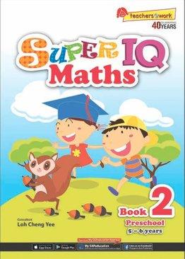 Super IQ Maths Book 2