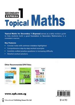 Topical Maths Sec 1 Exp (3rd Ed)