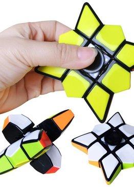 Developmental Toy For Kids Play N Learn Party Gift IQ Rubik Fidget Spinner