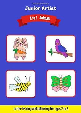 Junior Artist: A to Z Animals