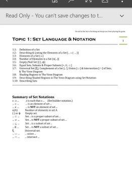 Exam Buddy Elementary Mathematics Sec 4 (2020 Edition) Topic 1: Set Language & Notation