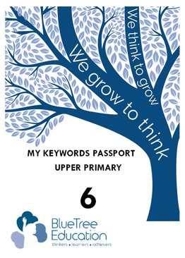 P6 Science Keyword Passport