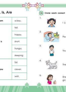 Beginner Grammar Pack Bundle of 4 Books ( Preschool )