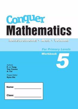 Conquer Mathematics Measurements Area Volume Book 5