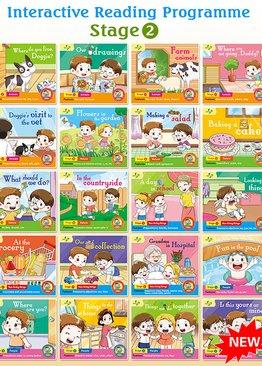 Interactive Reading Programme(Stage 2) Bundle of 20 Books ( Preschool )