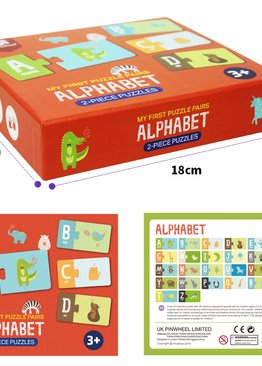 My First Puzzle Pairs- Alphabet