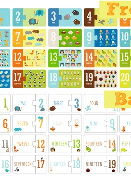 My First Puzzle Pairs- Counting