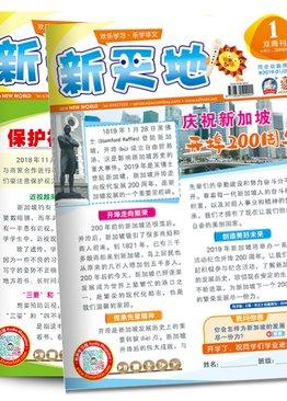 """新天地 """"New World"""" Assessment Magazine 2019 Bundle Pack ( Primary 3/4 )"""