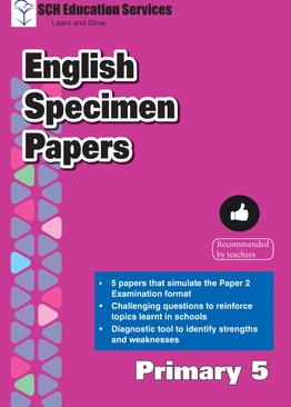 Primary 5 English Specimen Papers
