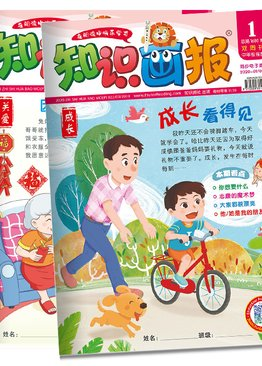 "知识画报 ""Zhi Shi Hua Bao"" Reading Magazine 2020 Bundle Pack ( Primary 3/4 )"