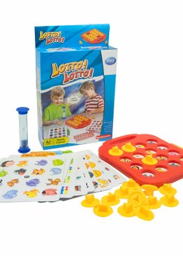 Board Game Play N Learn 707 Lotto Memory Educational Party Game