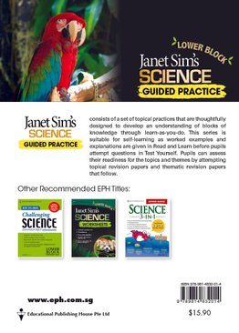 Janet Sim's Science Guided Practice Lower Block