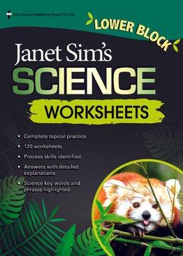 Janet Sim's Science Worksheets Lower Block