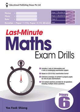 Last-Minute Maths Exam Drills P6